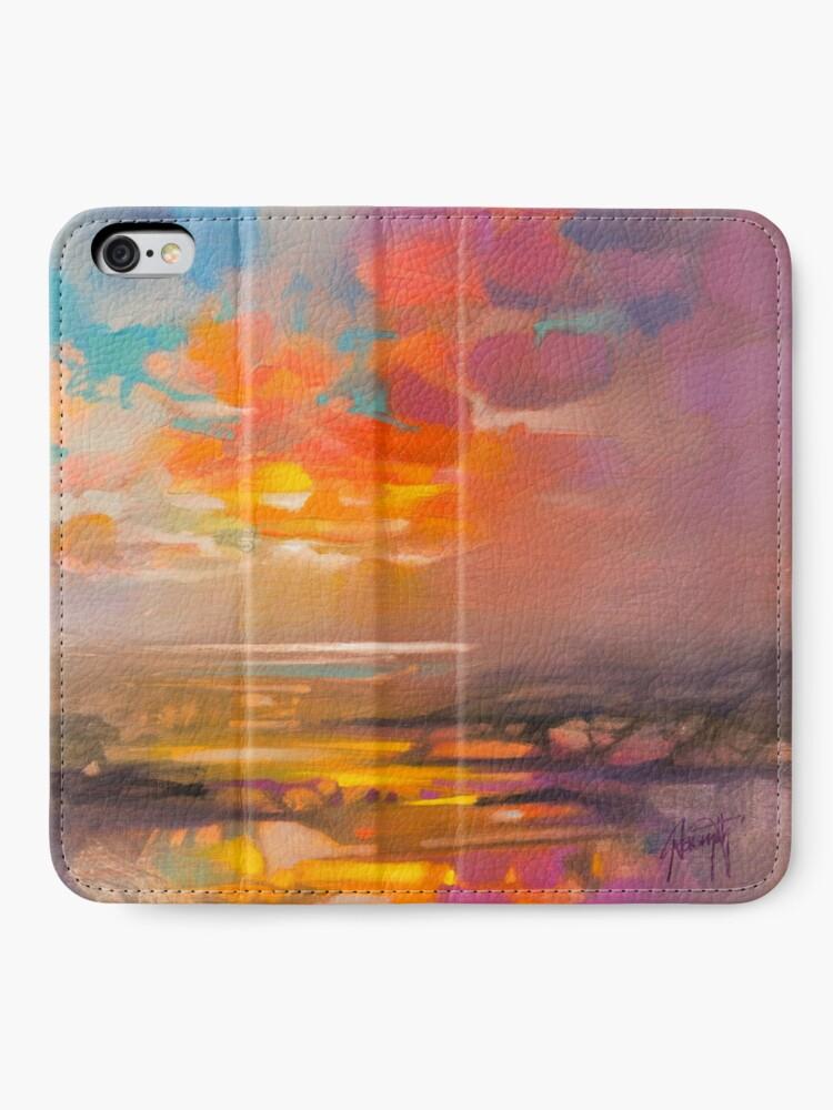 Alternate view of Vivid Light 3 iPhone Wallet