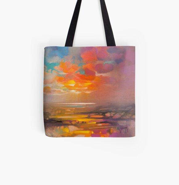 Vivid Light 3 All Over Print Tote Bag