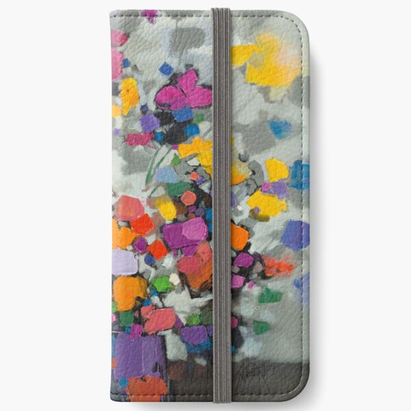 Floral Spectrum 2 iPhone Wallet