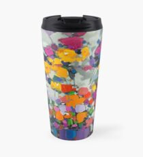 Floral Spectrum 2 Travel Mug