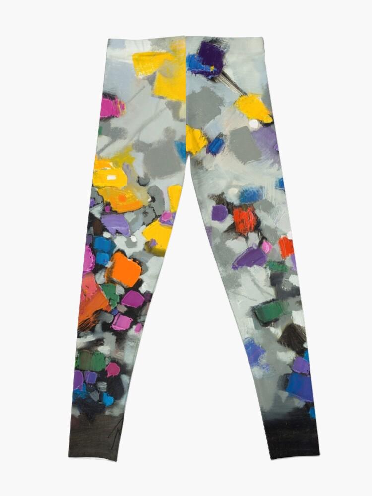 Alternate view of Floral Spectrum 2 Leggings