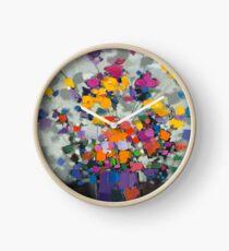 Floral Spectrum 2 Clock