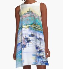Early Morning Manly, Sydney A-Line Dress