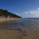 Fishermans bay.  Fraser island by Alexey Dubrovin
