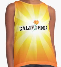 California the Golden State Contrast Tank