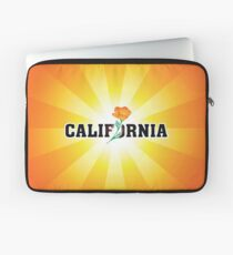 California the Golden State Laptop Sleeve