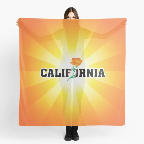 California the Golden State Scarf