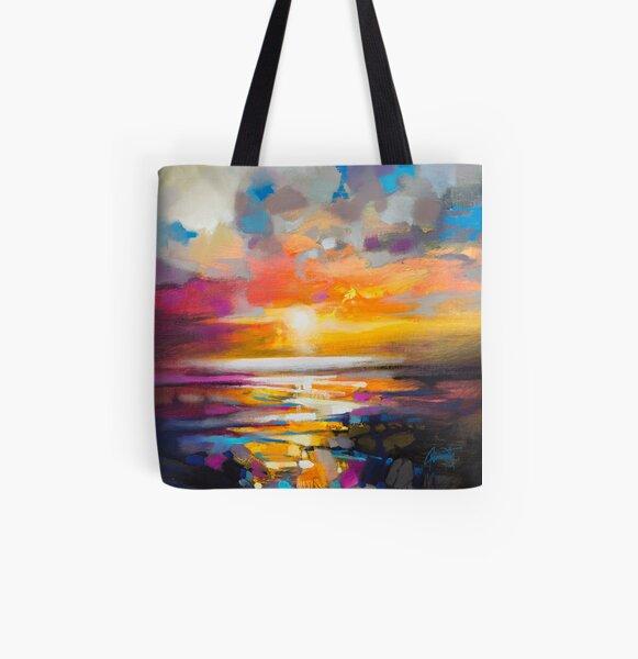 Vivid Light 1 All Over Print Tote Bag