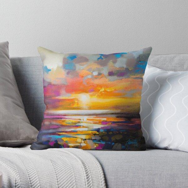 Vivid Light 1 Throw Pillow