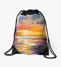 Vivid Light 1 Drawstring Bag