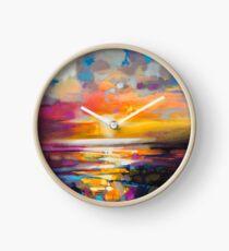 Vivid Light 1 Clock