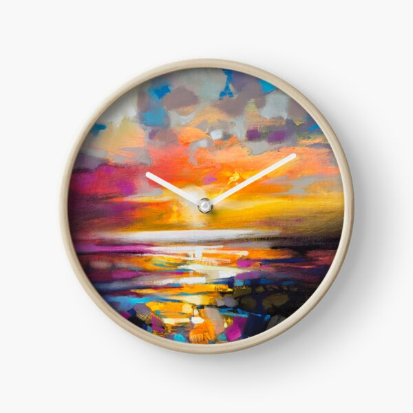 Vivid Light 1 Clock