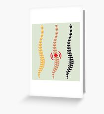 Spine Greeting Card