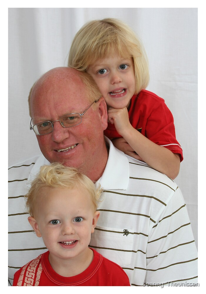 Father, Son & Daughter by Jeanny  Theunissen