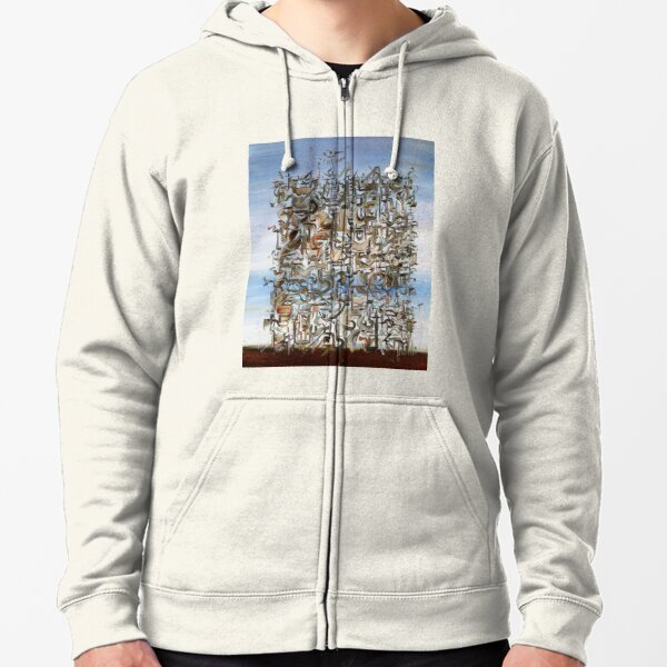 SOMETHING TO DREAM ABOUT Zipped Hoodie