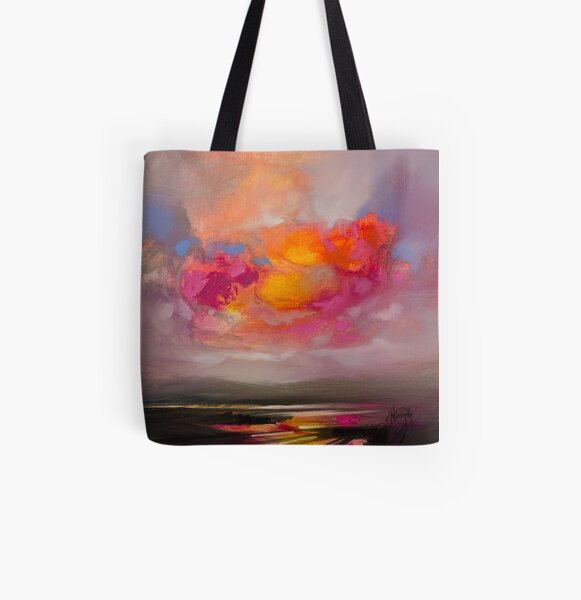 Primary Cuillins All Over Print Tote Bag