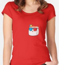 Smii7y Women's Fitted Scoop T-Shirt