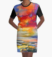 Vivid Light 2 Graphic T-Shirt Dress