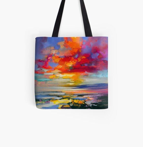 Vivid Light 2 All Over Print Tote Bag