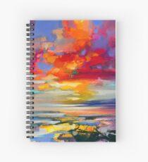 Vivid Light 2 Spiral Notebook