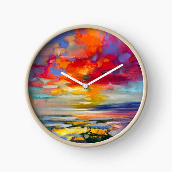 Vivid Light 2 Clock