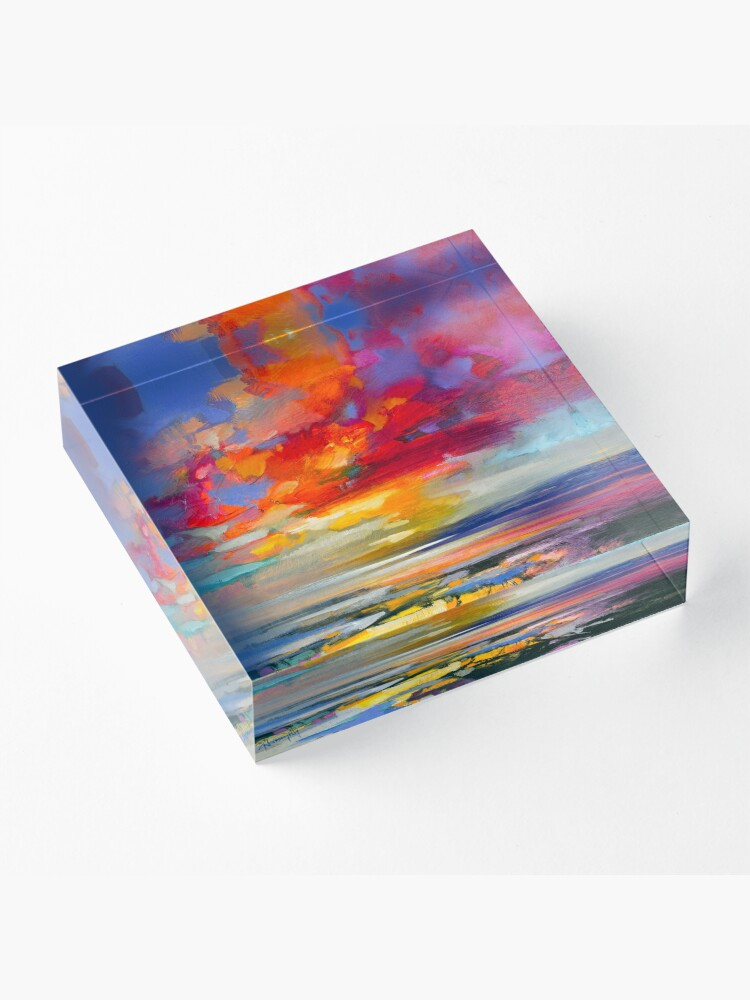 Alternate view of Vivid Light 2 Acrylic Block