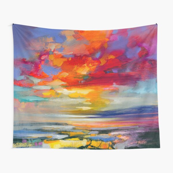 Vivid Light 2 Tapestry