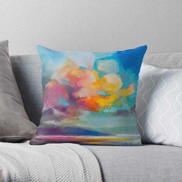 Vapour Throw Pillow