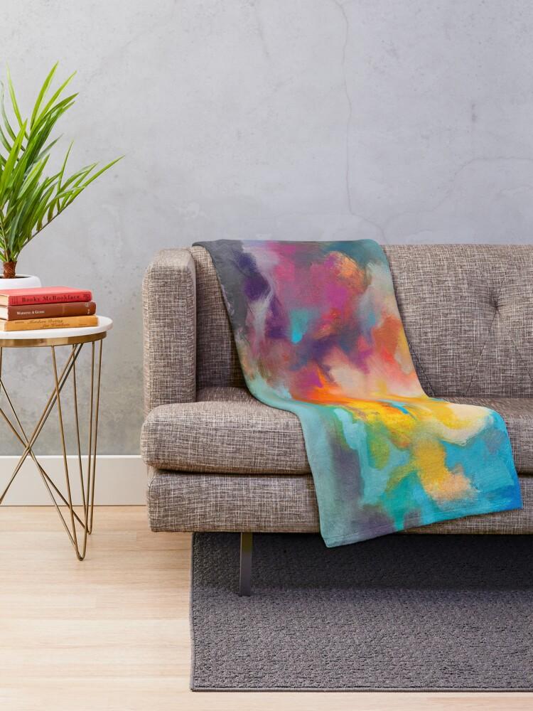 Alternate view of Vapour Throw Blanket