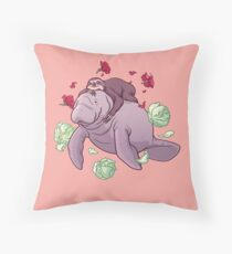Spirit animals Throw Pillow
