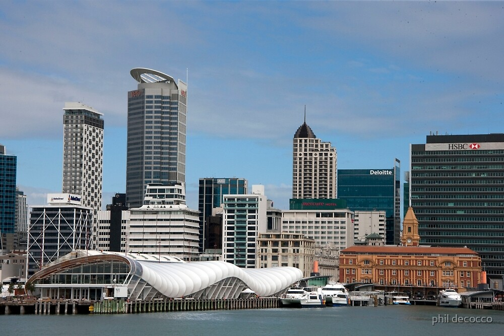 Auckland, Old And New by phil decocco