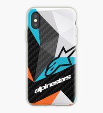 Vinilo o funda para iPhone Fractales de carbono Alpinestars