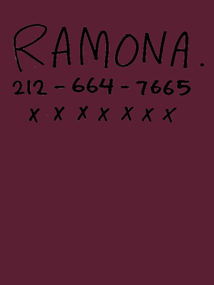 ihr Name ist Ramona von germball