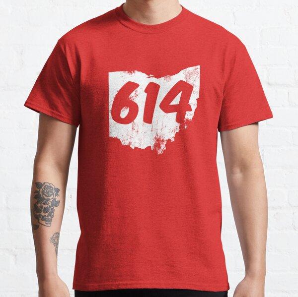 614 Columbus  Ohio area code  Classic T-Shirt
