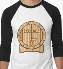 Beer barrel Men's Baseball ¾ T-Shirt