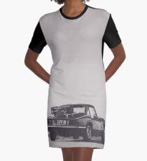 Supercar details, british triumph spitfire, black & white, high quality fine art print, classic car Graphic T-Shirt Dress