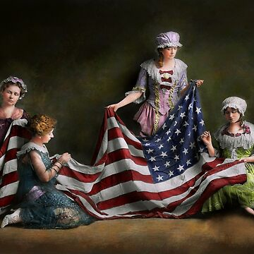 Americana - Flag - Birth of the American Flag 1915 by mikesavad