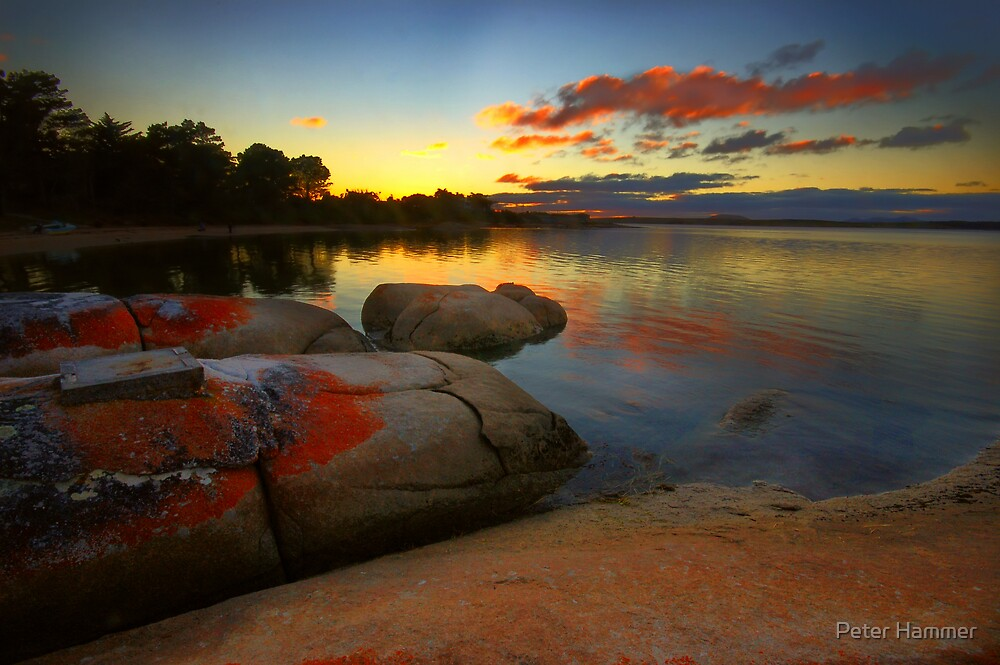 Sunset at Lady Barron by Peter Hammer