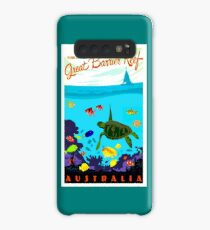 AUSTRALIA : Great Barrier Coral Reef Print Case/Skin for Samsung Galaxy
