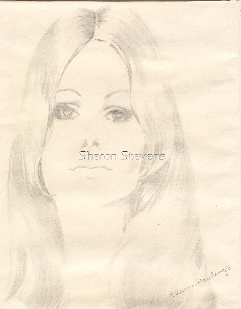 Pencil Sketch by Sharon Stevens