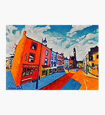 Ballyshannon. Main Street. Donegal, Ireland Photographic Print