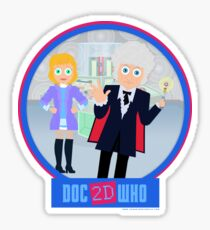 DOC2DWHO - Doctor and Jo Sticker