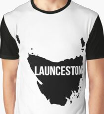 Launceston, Australia Silhouette Graphic T-Shirt