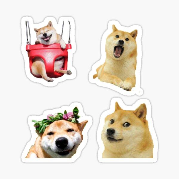 doge sticker pack Sticker