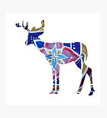 Deer mandala element  Photographic Print