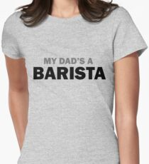 My dad... Womens Fitted T-Shirt