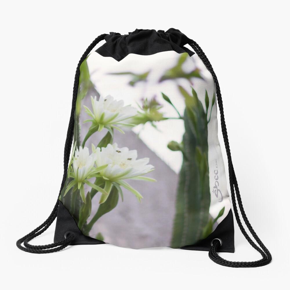 Princess of the Night - Blooming in Abundance Drawstring Bag