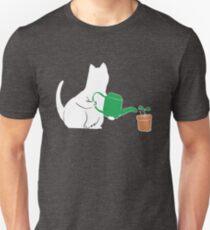 Funny Cartoon Garden Cat Gardening Feline Lover Gift T-Shirt