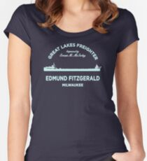 Edmund Fitzgerald GC196 Best Trending Women's Fitted Scoop T-Shirt