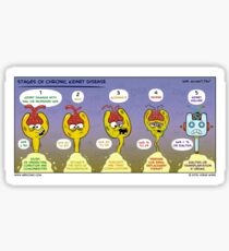 Stages of Chronic Kidney Disease Sticker